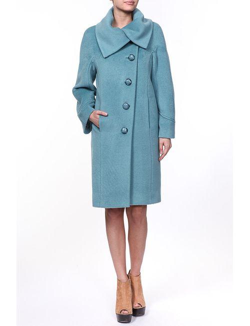 Амулет | Женское Голубое Пальто
