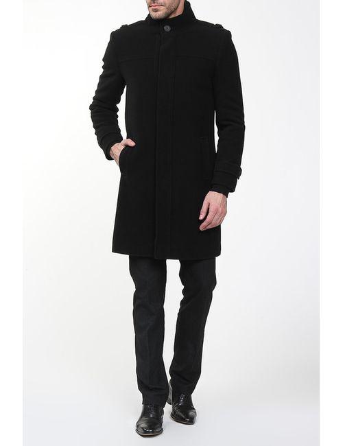 Амулет | Мужское Чёрное Пальто
