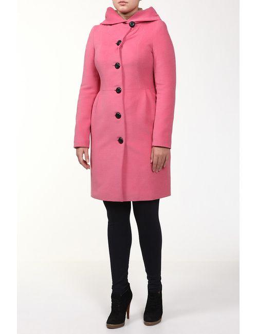 Фортуна | Женское Розовое Пальто