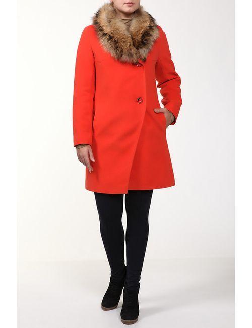 Фортуна | Женское Оранжевое Пальто