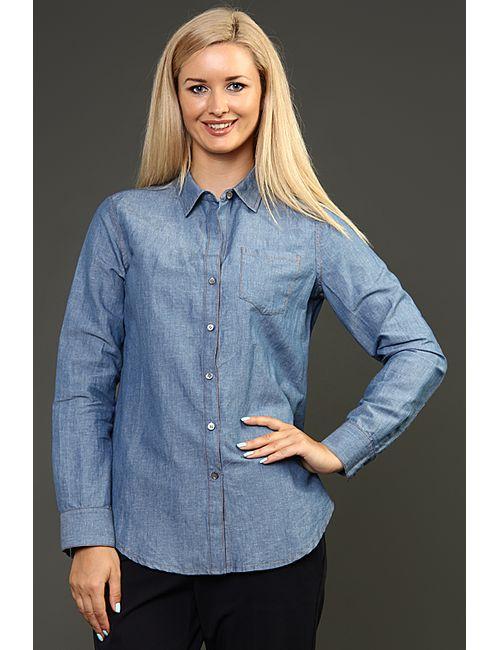 Theory | Женская Голуба Рубашка