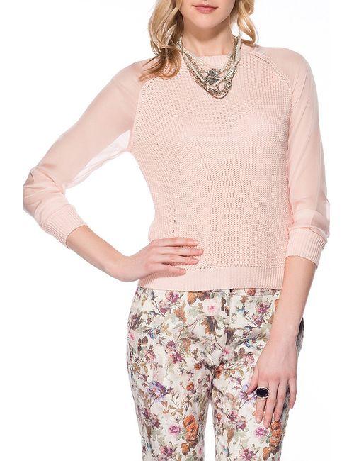 Dilvin | Женский Розовый Джемпер