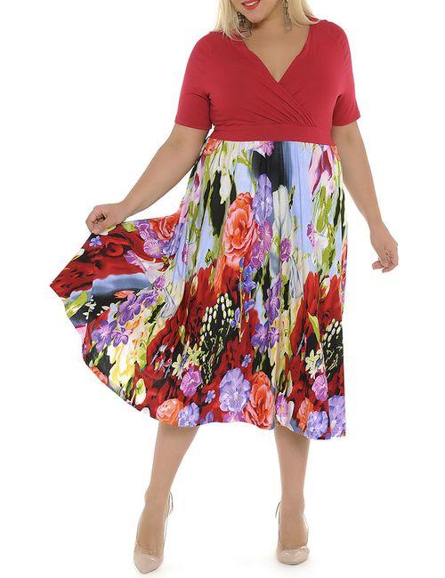 Svesta | Женское Многоцветное Платье