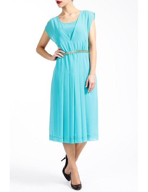 Paola Collection | Женское Голубой Платье