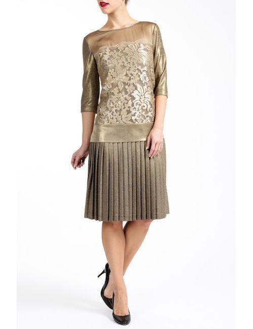 Paola Collection | Женское Бежевое Платье