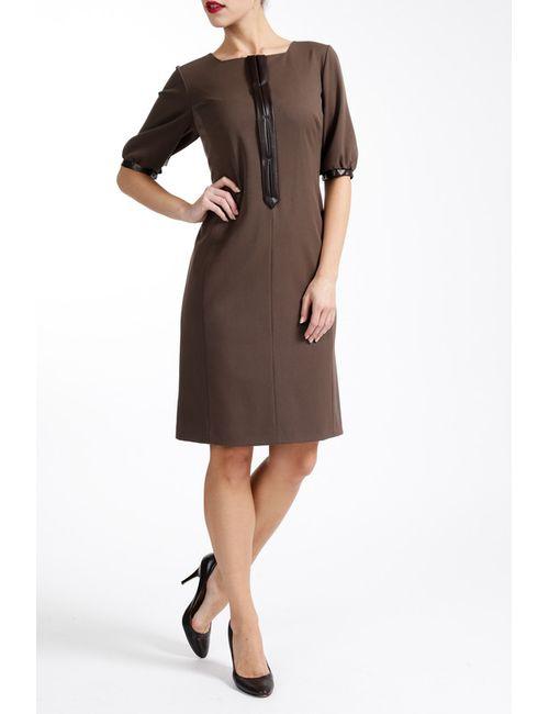 Paola Collection | Женское Коричневое Платье