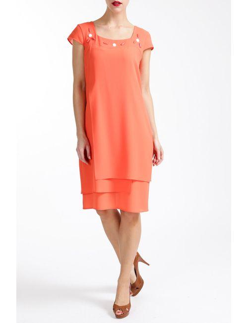 Paola Collection | Женское Красное Платье