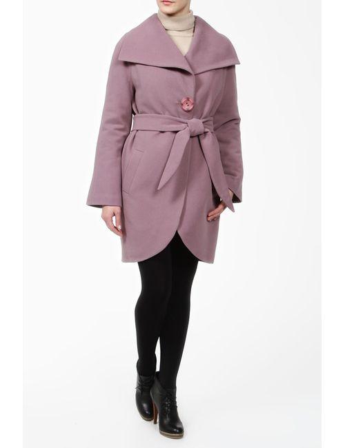 Фортуна | Женское Фиолетовое Пальто