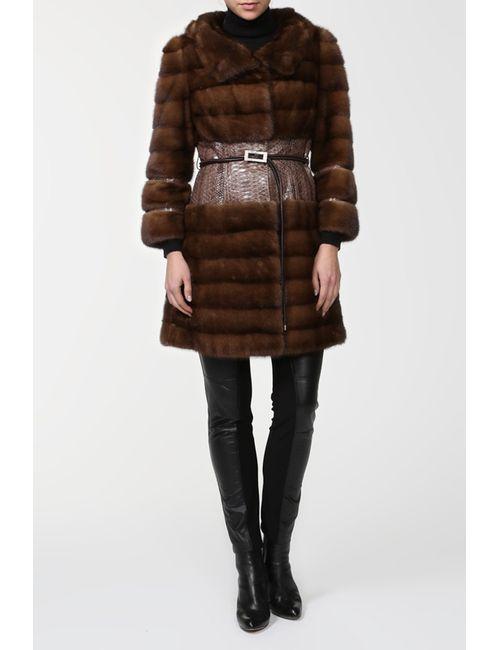 DSA   Женское Коричневое Пальто