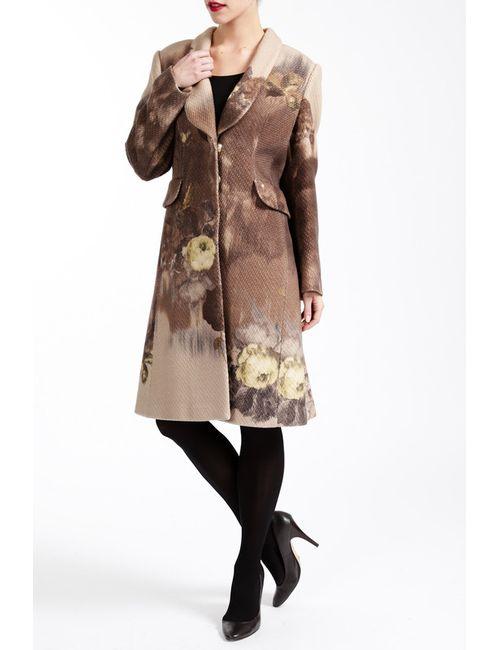 Paola Collection | Женское Коричневое Пальто
