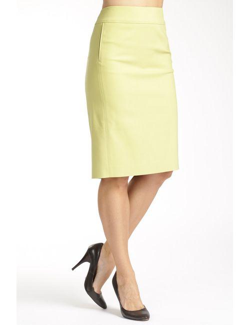 Paola Collection | Женская Жёлтая Юбка