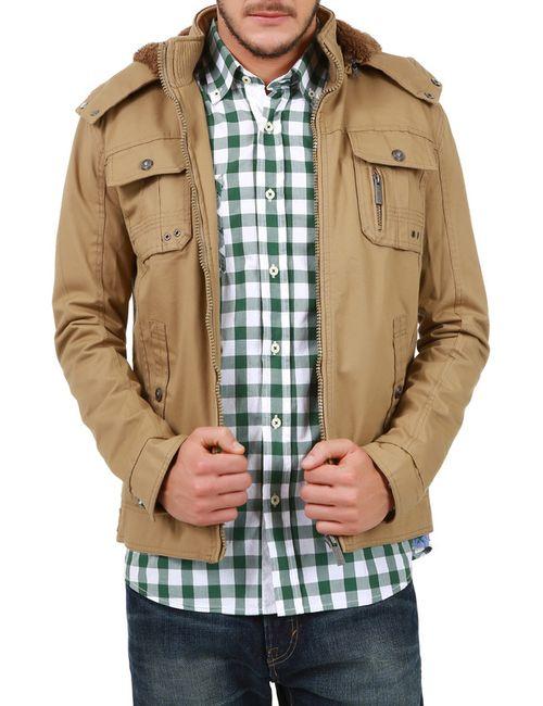 LET'S GO | Мужская Бежевая Куртка