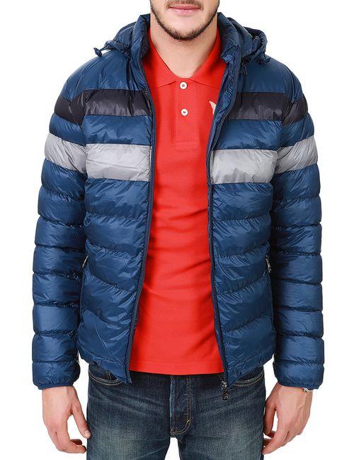 LET'S GO   Мужская Синяя Куртка