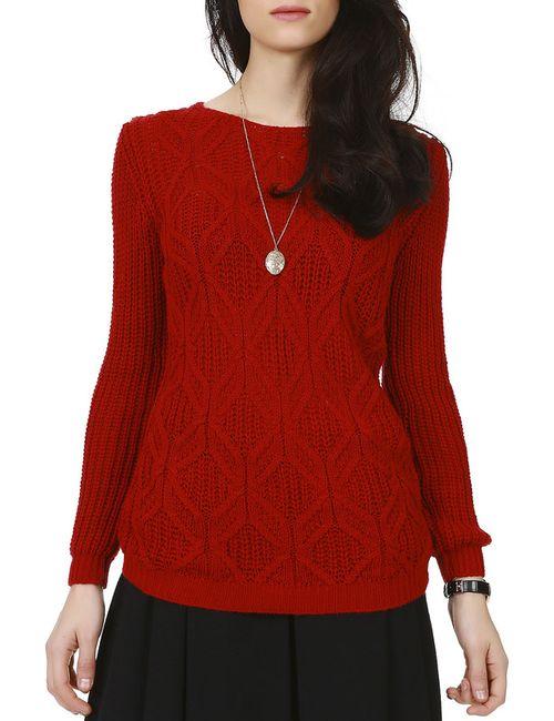 LET'S GO | Женский Красный Джемпер