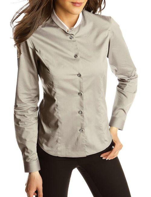 Gazoil   Женская Серая Рубашка