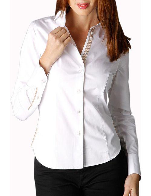 Gazoil   Женская Белая Рубашка