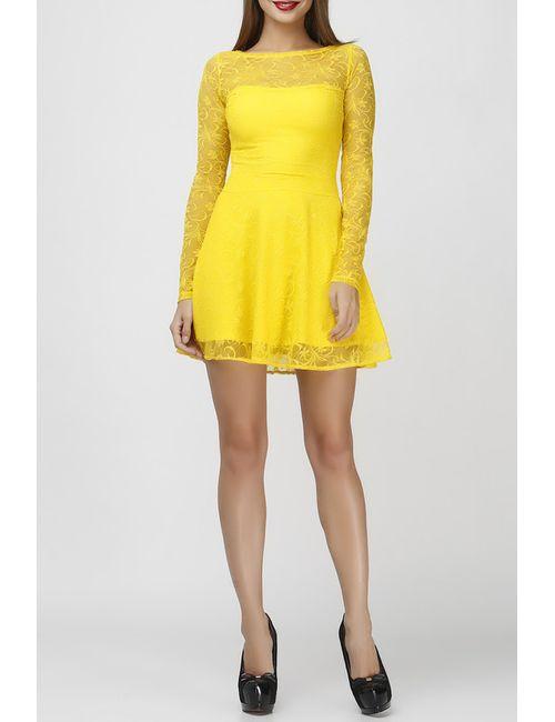 George krutienko | Женское Жёлтое Платье