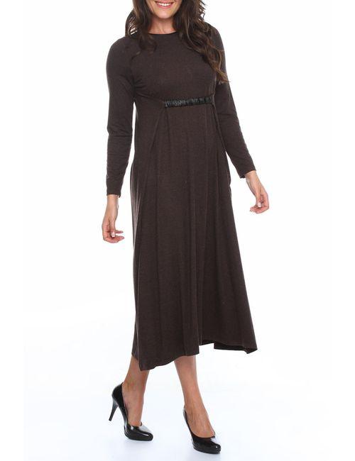 Zer Otanik | Женское Коричневое Платье