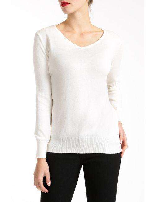 Lea Fashion | Женский Белый Свитер