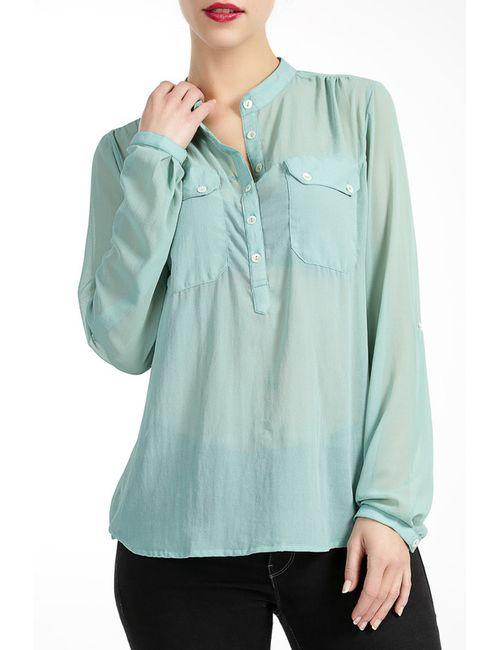 Lea Fashion   Женская Зелёная Блузка