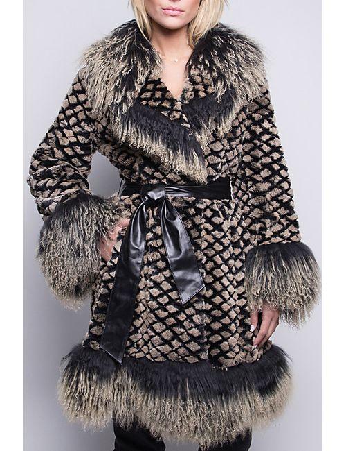 Giorgio | Женское Чёрное Пальто