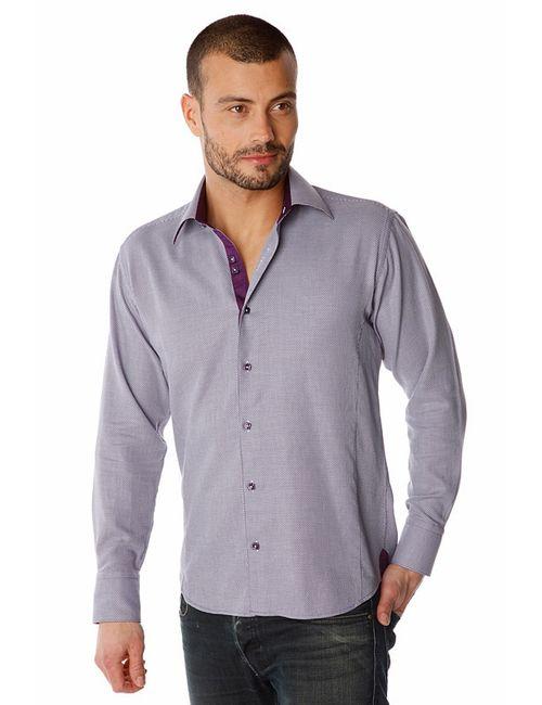 Gazoil   Мужская Фиолетовая Рубашка