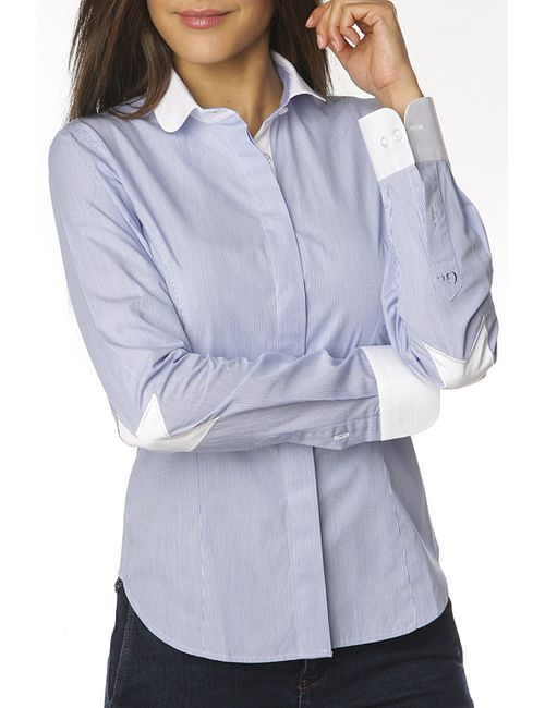 Gazoil | Женская Синяя Рубашка