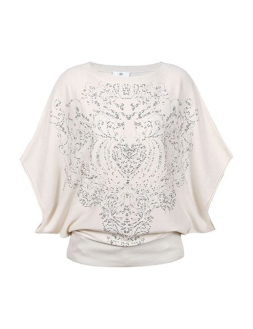 Allude | Женский Белый Пуловер