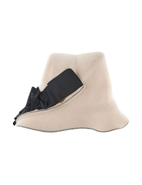 Marzi   Женская Белая Шляпа