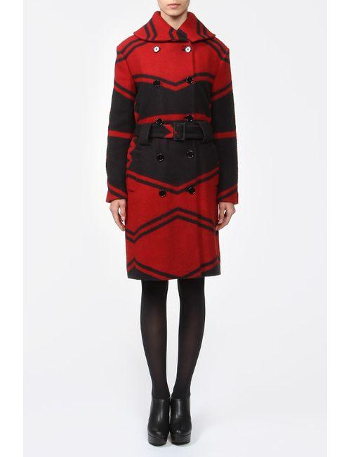 Ralph Lauren Collection | Женское Красное Пальто С Поясом