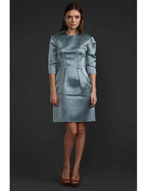 Lanvin | Женское Голубое Платье
