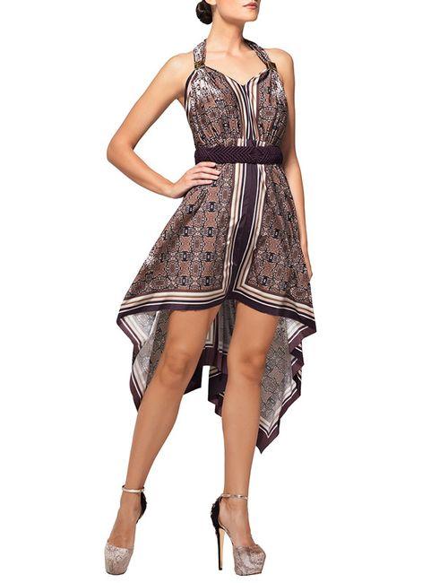 Lora Grig | Женское Многоцветное Платье Пляжное