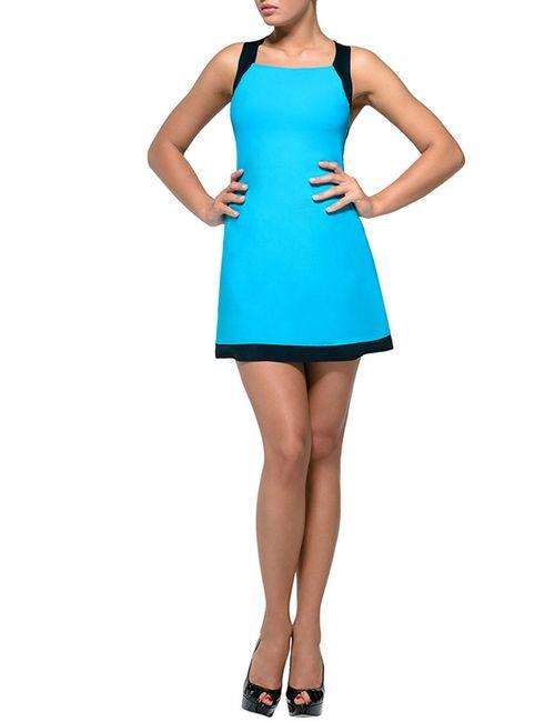 Lora Grig | Женское Голубое Платье Пляжное
