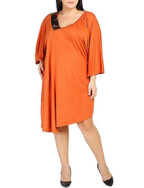 Milanesse | Женское Оранжевое Платье