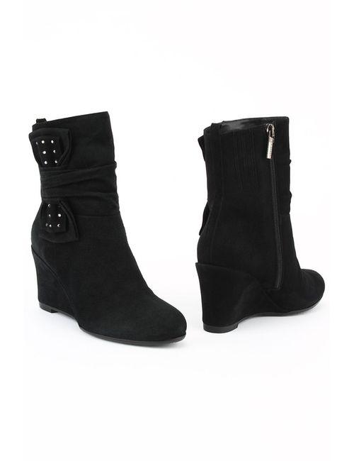 Renzoni | Женские Чёрные Ботинки