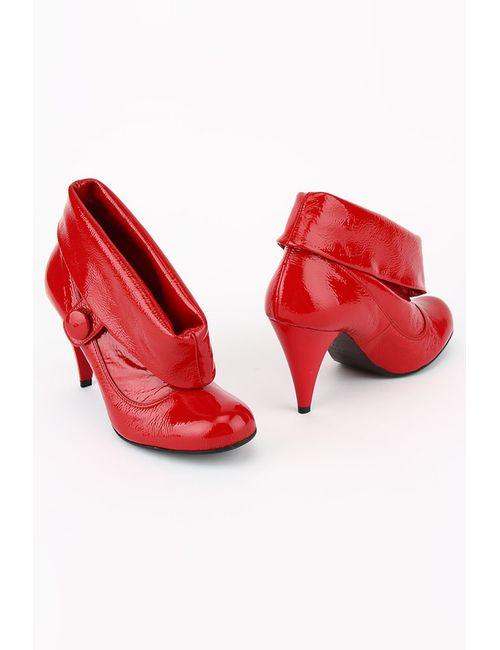 GLUSEPPE MANCINI   Женские Красные Ботинки