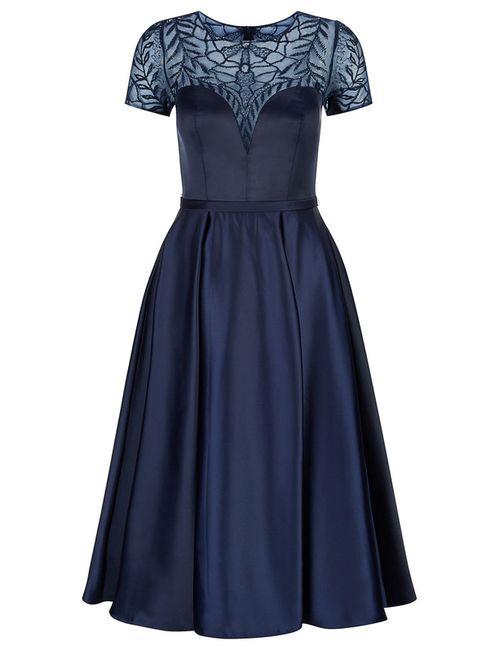 Dynasty | Женское Синее Платье