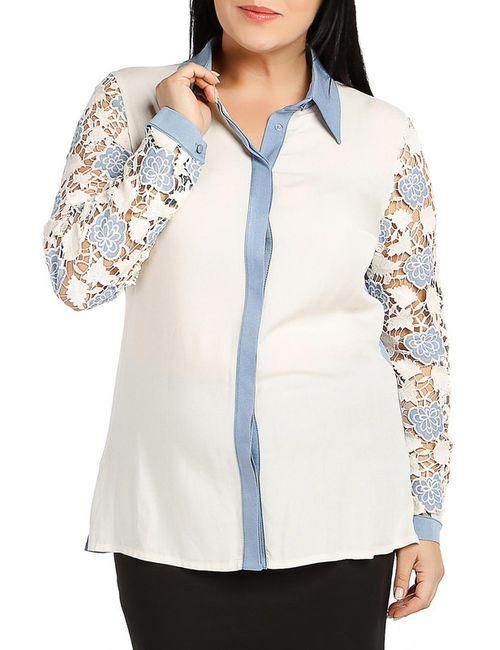 Milanesse | Женская Многоцветная Рубашка