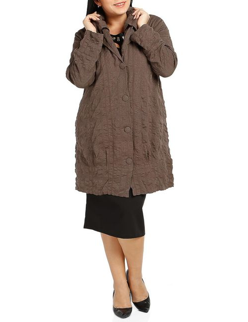 Milanesse | Женское Коричневое Пальто