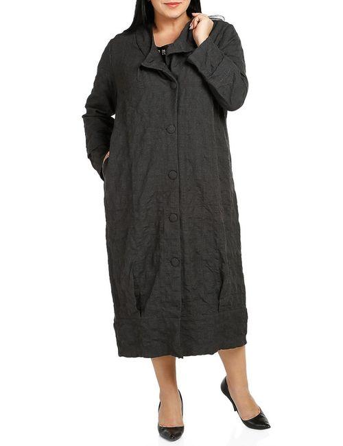 Milanesse | Женское Серое Пальто