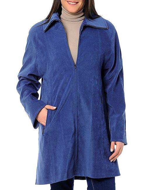 Milanesse   Женское Синее Пальто