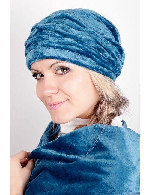 Loricci | Женская Голуба Бандана С Шарфом