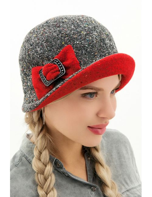 Loricci | Женская Красная Шляпка