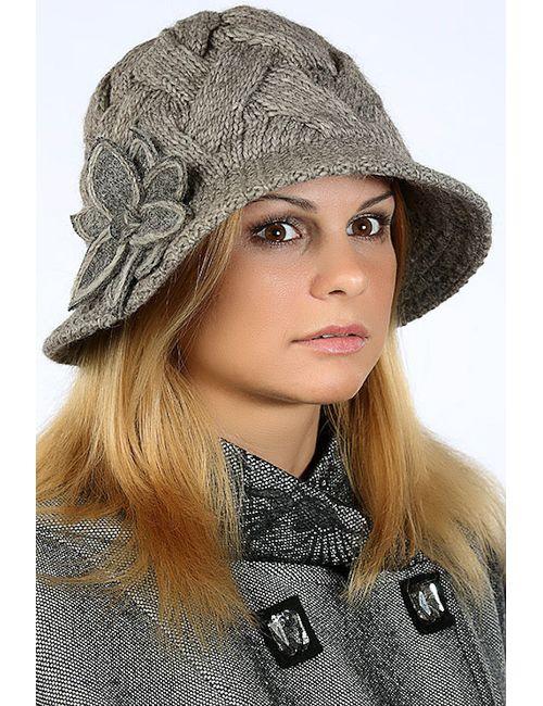 Loricci | Женская Коричневая Шляпка