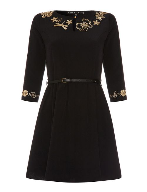 Myla London | Женское Чёрное Платье