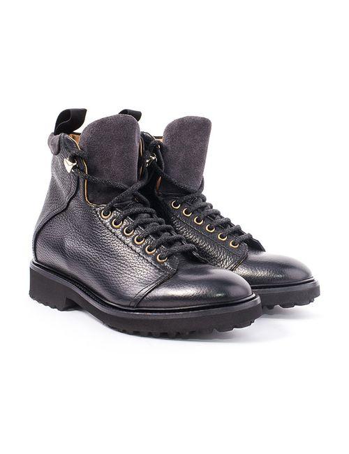 Doucal's | Женские Чёрные Ботинки