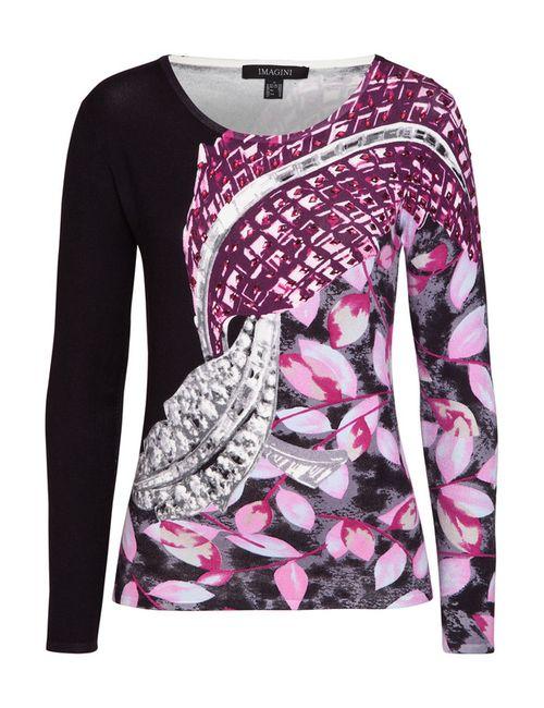 IMAGINI | Женский Розовый Пуловер
