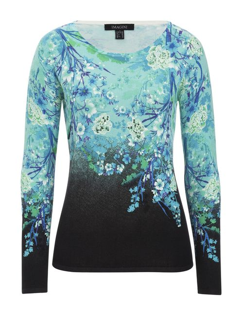 IMAGINI | Женский Голубой Пуловер