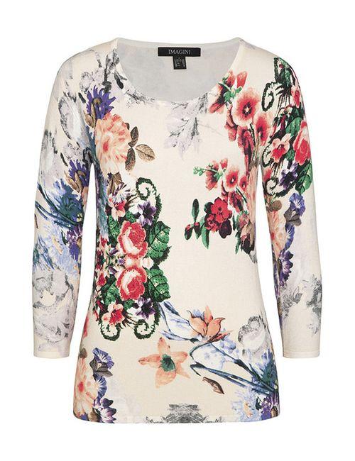 IMAGINI   Женский Многоцветный Пуловер