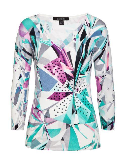 IMAGINI | Женский Многоцветный Пуловер